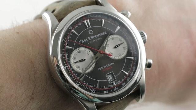 Carl F. Bucherer Manero Flyback Chronograph (00.10919.08.33.02) Review