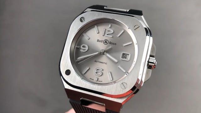 Bell & Ross BR 05 Grey Steel BR05A-GR...