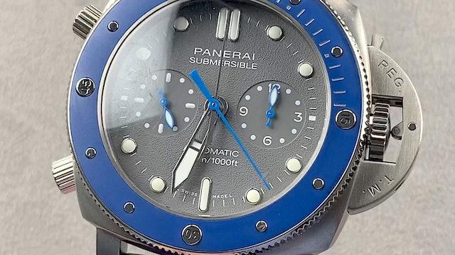 Panerai Submersible Chrono Guillaume Nery Edition PAM 982