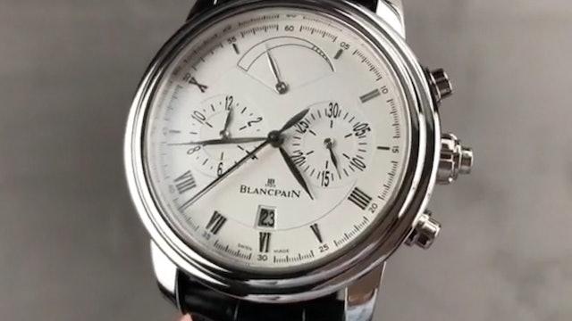Blancpain Le Brassus Split Seconds Chrono 4246P 3442A 55B Blancpain Watch Review
