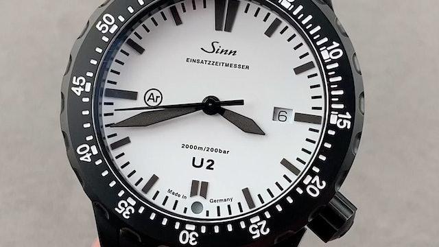 Sinn Diving Watch U2 W Limited Edition U2 W LE