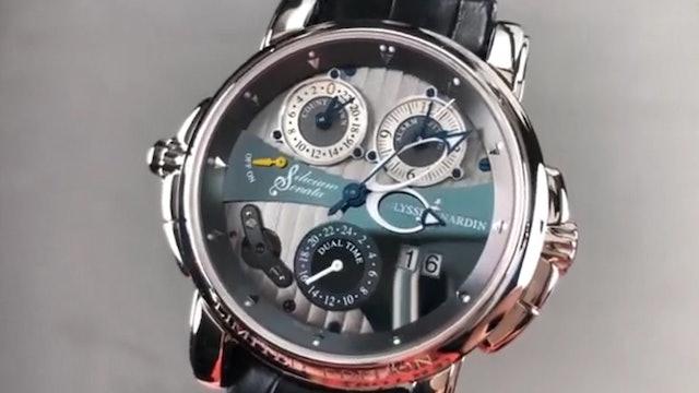 Ulysse Nardin Sonata Silicium GMT Alarm 670 85 Un Watch Review