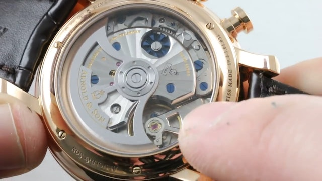 Arnold & Son Ctb Chronograph True Beat 1Char.S01A.C120A Review