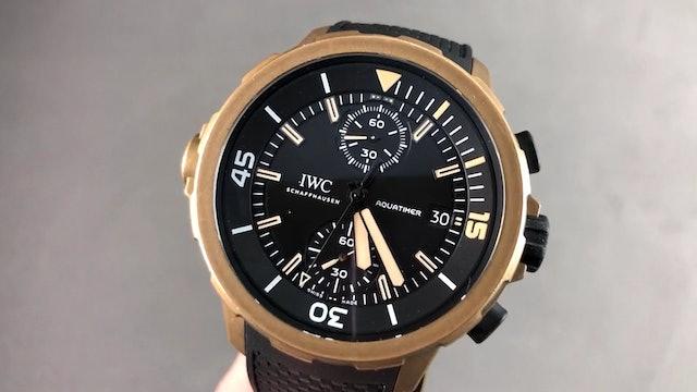 "IWC Aquatimer Bronze Chronograph ""Edition Expedition Charles Darwin"" IW3795-03"