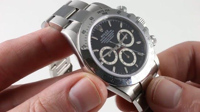 Rolex Cosmograph Daytona Black Dial 1...