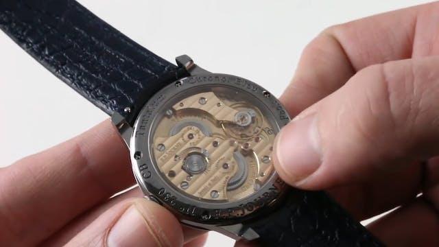 F.P. Journe Chronometre Bleu Review