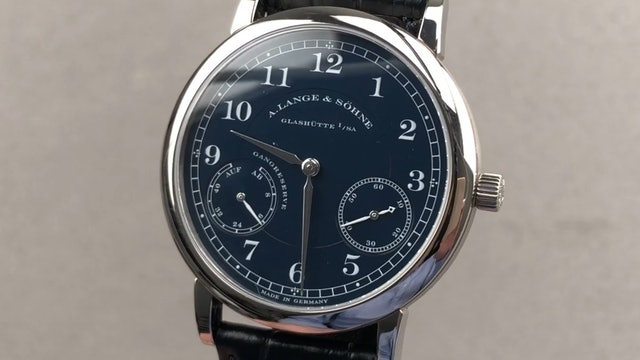 A. Lange & Sohne 1815 Up/Down (Power Reserve) 221.027 Review