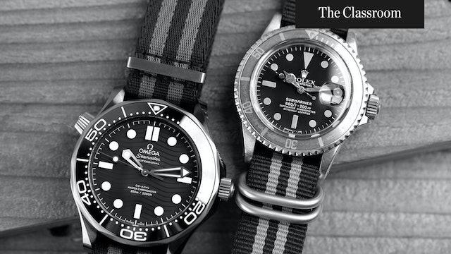 The Rivalry of Rolex vs. Omega