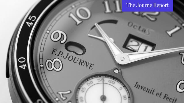How Auctions Impact F.P. Journe