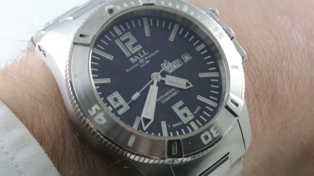 Ball Watch Company Engineer Hydrocarbon Spacemaster X Lume (Dm2036A Sca Bk)