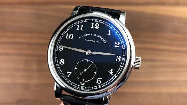 A. Lange & Sohne 1815 200th Anniversary F.A. Lange LE 236.049 Review