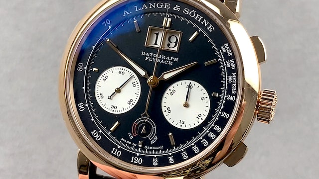 A. Lange & Sohne Datograph Up/Down 405.031