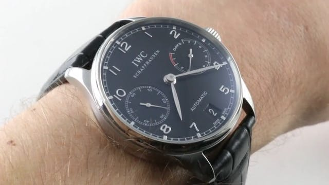 IWC Portuguese 7 Day 5001-09 Review