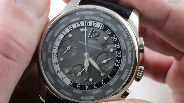 Girard Perregaux Wwtc World Time Chro...