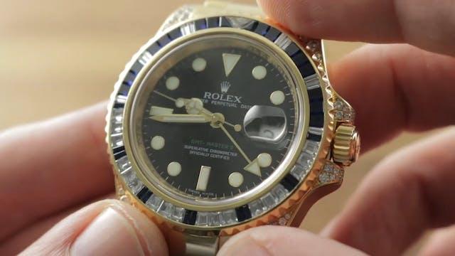 Rolex GMT Master II Diamond Sapphire ...