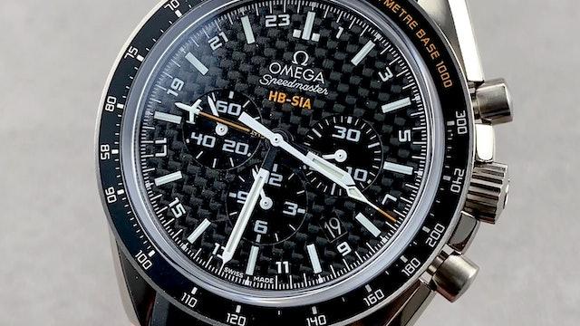 Omega Speedmaster GMT Chronograph Anniversary Series 321.92.44.52.01.001
