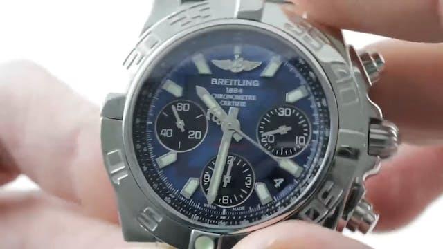 Breitling Chronomat 01 Blue Dial 41mm...