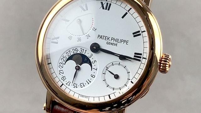 Patek Philippe 5054R-001 Power Reserve Moon Phase
