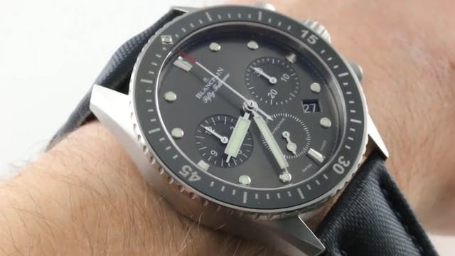 Blancpain Fifty Fathoms Bathyscaphe C...