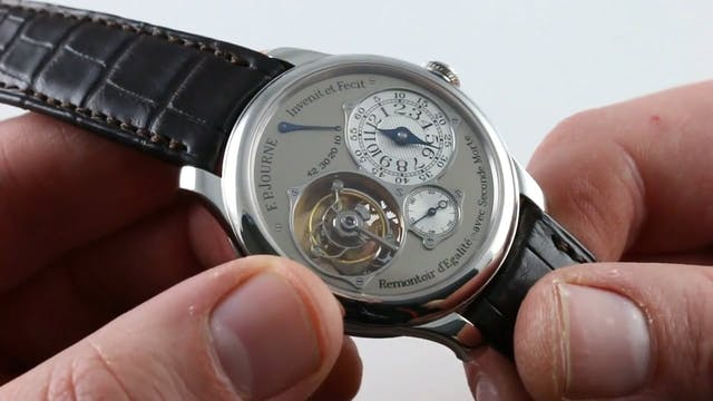 F.P. Journe Tourbillon Souverain Review