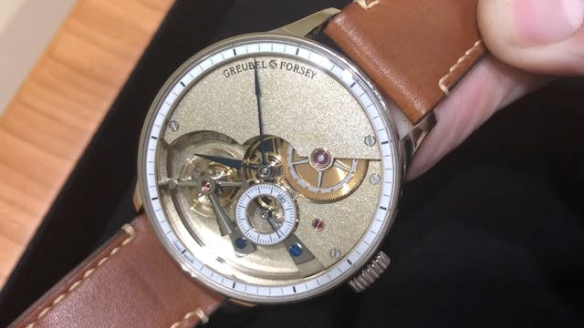 2019 Greubel Forsey Hand Made 1 Tourb...