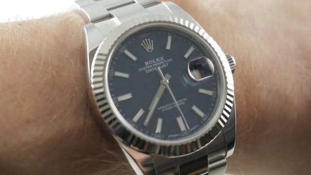 Rolex Datejust 41 Blue Dial 126334 Re...