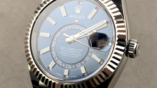 2021 Rolex Oyster Perpetual Sky-Dweller 326934
