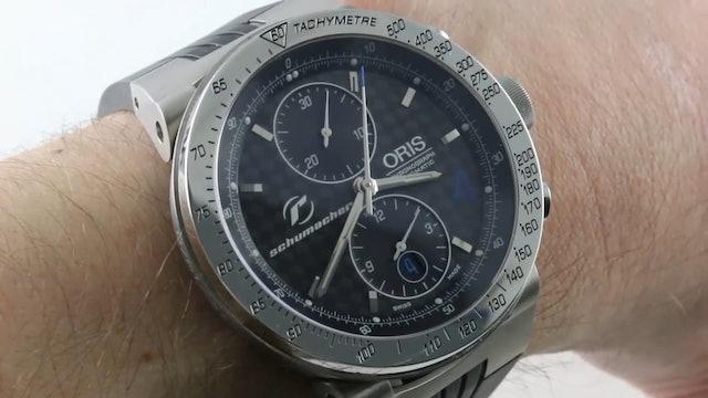 Oris Williams F1 Ralf Schumacher Limited Edition 673 7561 7064RS