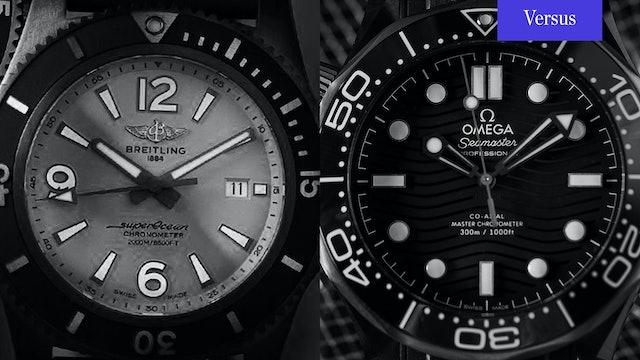 Omega Seamaster vs Breitling SuperOcean 2: Diver 300M vs SuperOcean 2