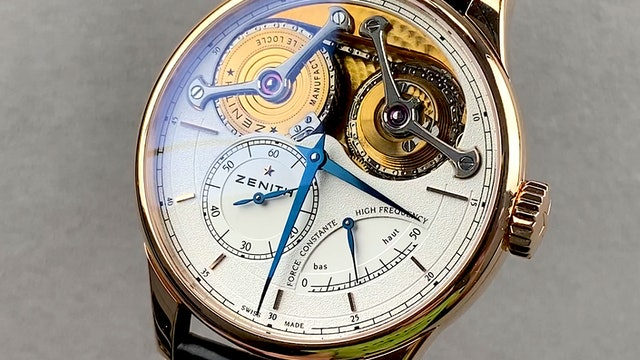 Zenith Academy Georges Favre-Jacot Limited Edition 18.2210.4810/01.C713