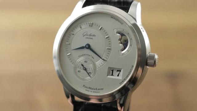 Glashutte Original Panomaticlunar 1 90 02 42 32 05 Glashutte Watch Review