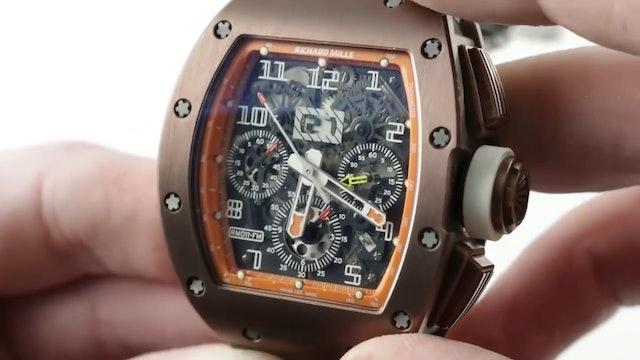 """Richard Mille RM 011 Chronograph """"Felipe Massa"""" Silicon Nitride (RM011 AK)"""