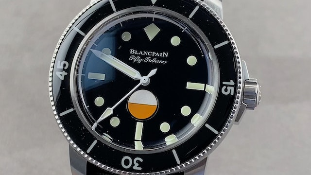 Blancpain Fifty Fathoms MIL-SPEC Hodinkee Limited Edition 5008-11B30-NABA