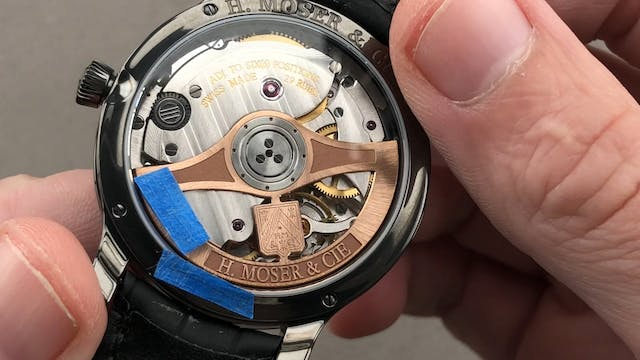 H. Moser & Cie Endeavour Dual Time 13...