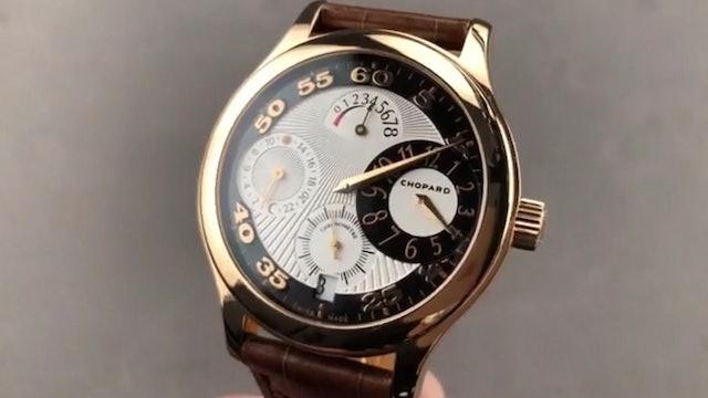 Chopard L.U.C. Regulator GMT Cosc Geneva Hallmark 250 161874-5001 Review