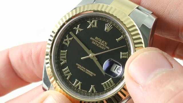 Rolex Datejust (Steel Yellow Gold) 11...