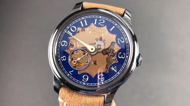 """F.P. Journe Chronometre Bleu """"Byblos"""" Review"""