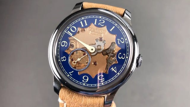 """F.P. Journe Chronometre Bleu """"Byblos""""..."""