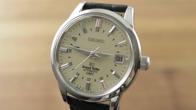 Grand Seiko vory Dial GMT SBGM021 Review