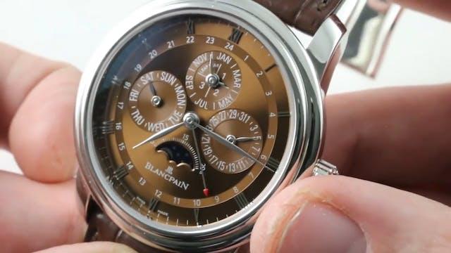 Blancpain Le Brassus GMT Perpetual Ca...