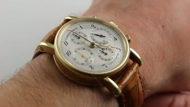 Chronoswiss Chronometer Calendar Ref. Ch 7521 Watch Review