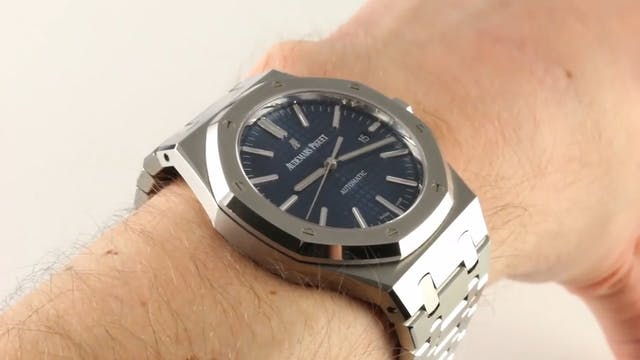 Audemars Piguet Royal Oak Blue Dial 1...