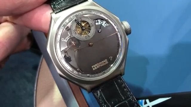 Chronomtrie Ferdinand Berthoud Fb1.R6 Regulator Dubai Watch Week Tourbillon