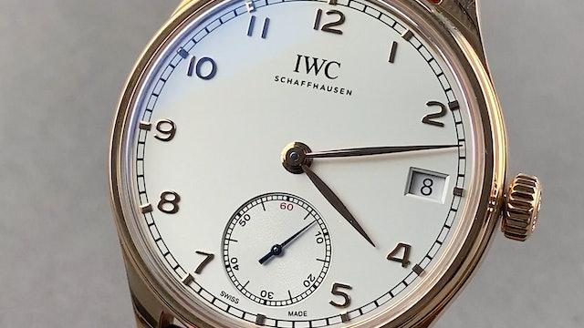 IWC Portugieser Hand-Wound Eight Days IW5102-04