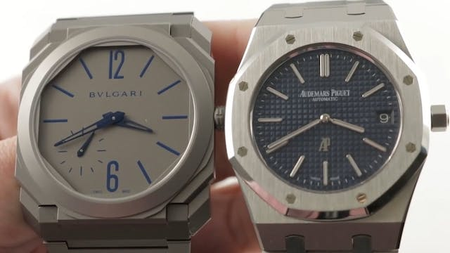 AP Royal Oak vs Bulgari Octo Finissim...