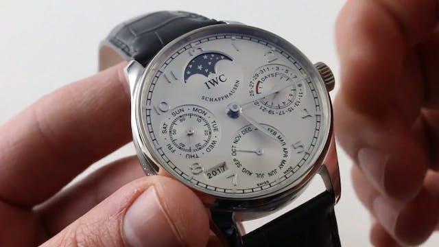 IWC Portuguese Perpetual Calendar IW5...