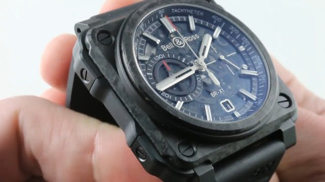Bell & Ross BR X1 Carbone Forge Limit...