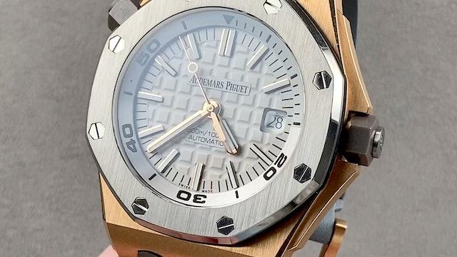 Audemars Piguet Royal Oak Offshore Diver Limited Edition 15711OI.OO.A006CA.01
