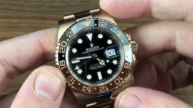 "Rolex GMT-Master II ""Rootbeer"" 126715..."