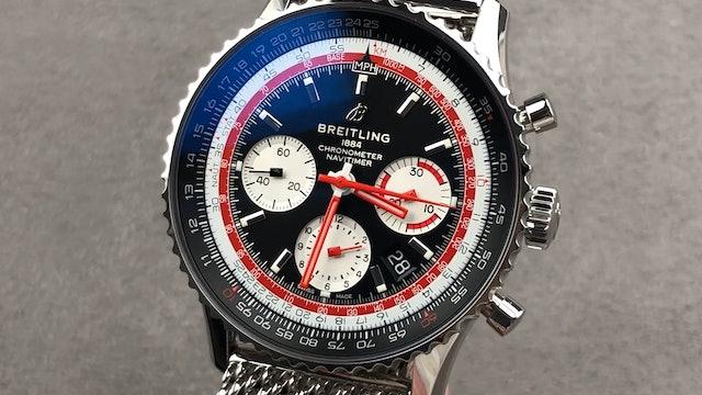 Breitling Navitimer B01 Chronograph Swiss Air AB01211B1BA1